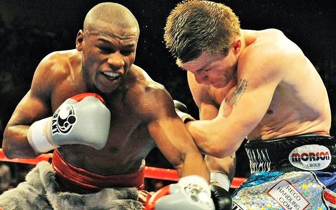 Dec. 8, 2007: Mayweather vs Hatton