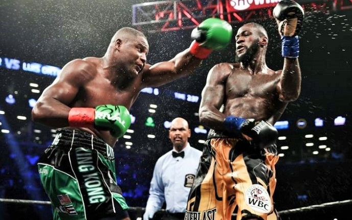 Knockout Wilder vs Ortiz