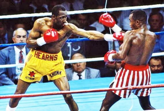 Leonard vs Hearns