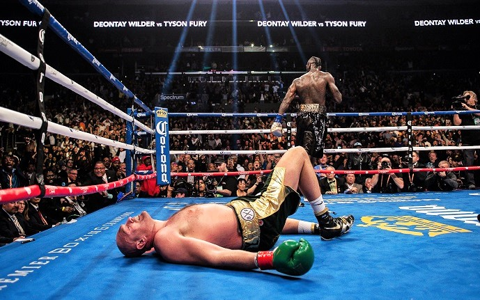 Wilder drops Fury