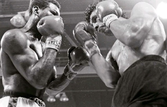 Punching From The Shadows - A Boxing Memoir by Glen SharpThe