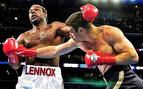 Lewis vs Klitschko