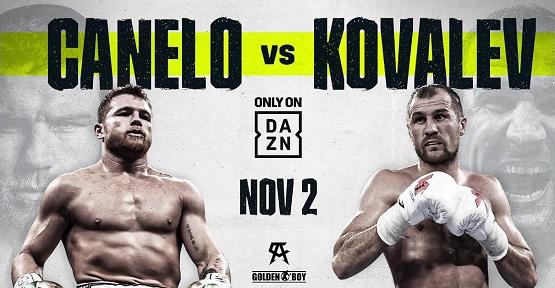 Canelo vs Kovalev
