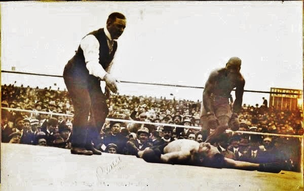 Jack Johnson vs Stanley Ketchel