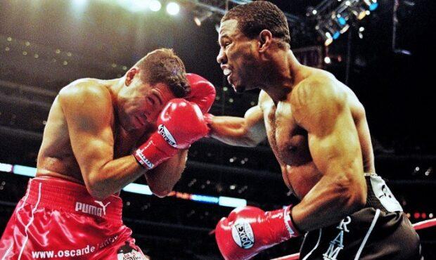 Mosley vs De La Hoya