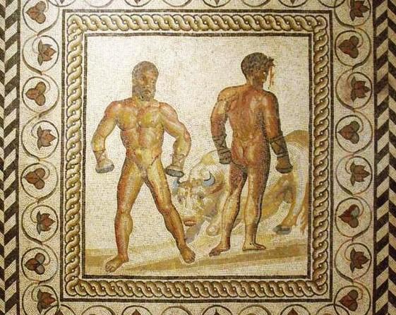 boxing Vergil roman