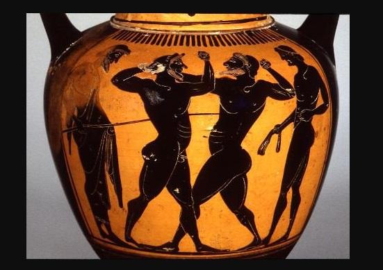 boxing homer greek