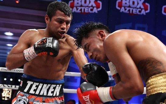 Estrada Gonzalez Cuadras boxing