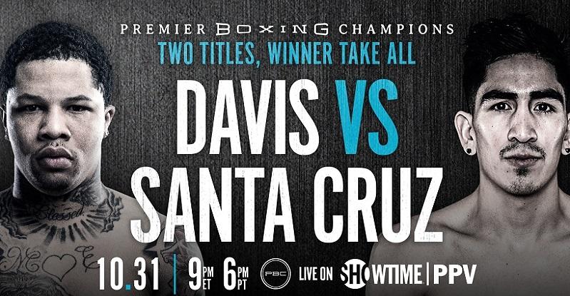 Leo Santa Cruz vs Davis