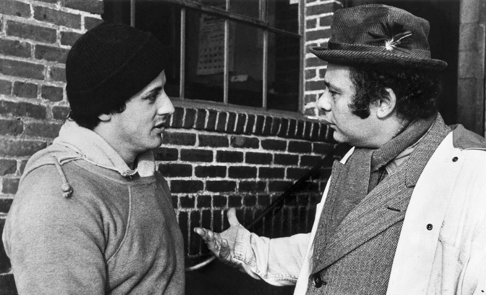 Rocky and Paulie